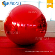 Mini LED Decorative Mirror PVC Balloon Disco Inflatable Mirror Balls