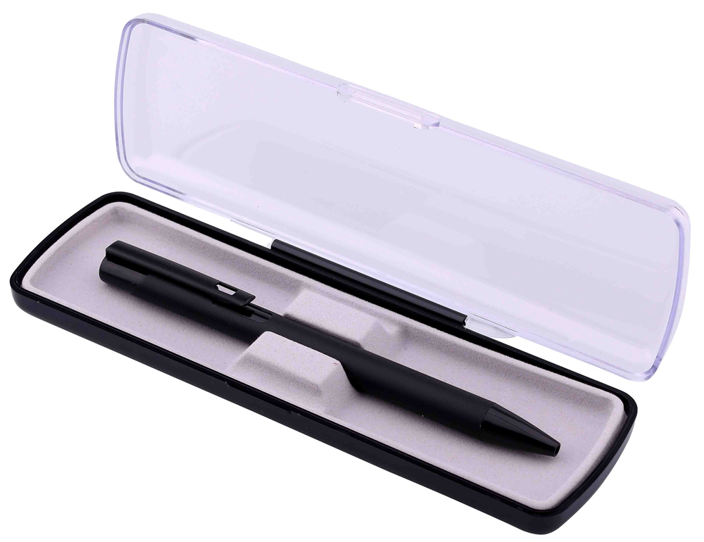 Single Metal Ballpoint Pen with Box