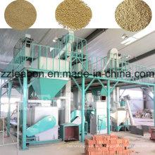 Chaîne de production professionnelle de granule d'alimentation de paille