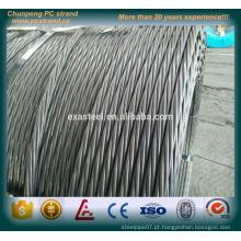 Corda de fio de aço pc de alta tensão de baixa tensão