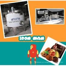 Tanque de mistura do chocolate de leite com preço de fábrica do motor / agitador