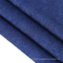Tejido de algodón vaquero azul / azul / negro de reparación de vaqueros