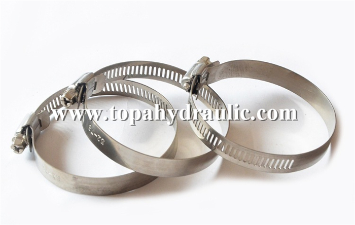 Custom large clips thumb screw hose clamp