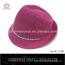 Специальная бумага с ювелирными изделиями String Fedora Hat уникальная дизайнерская бумага для оплетки из натуральных шляп
