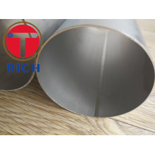 Tuyau d'acier inoxydable soudé par SS304 ASTM A409 ERW