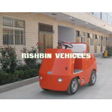 low speed Fully Electric Powered Roofless Tow Tractor with