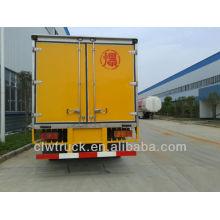 Camión explosivo de alta calidad de Dongfeng 4 * 2, camión explosivo de Perú para la venta