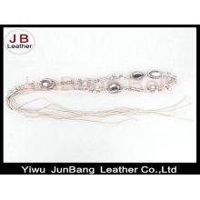 Mode Ethnische Stil Hand gemacht Perlen Gürtel