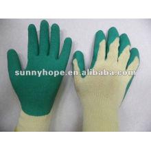 10g 21s Latex beschichtete Handschuhe