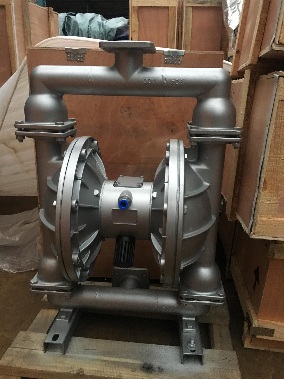 QBY stainless steel pneumatic diaphragm pump 2