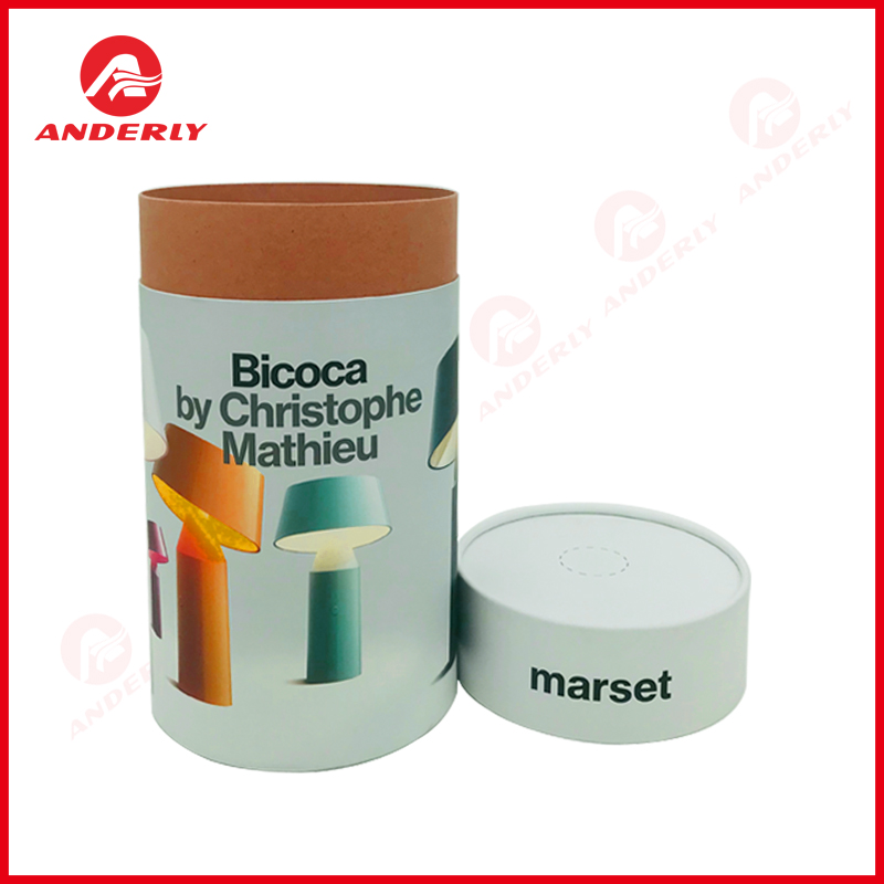 Gift Electronic Packaging Cylinder Paper Box