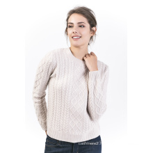 Women′s Crew Neck Sweater