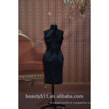 EM STOCK Halter vestido de festa vestido feminino vestido curto SE05