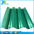 Hot sale customize clear tinted corrugated polycarbonate plastic roofing sheets