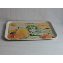 Eco Bamboo Fiber Serving Tray with Print (BC-TP1011)