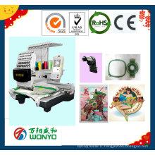 Machine de broderie de chapeau / machine de broderie de logo / machine de broderie de chapeau / machine de broderie de T-shirt Wy1501CS