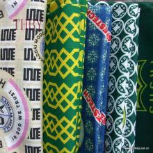 Polyester-Baumwolle Ghana Schule einheitliche Stoff-print