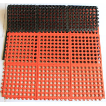 Anti Slip Durable Rubber Door Mat Drainage Rubber Mat