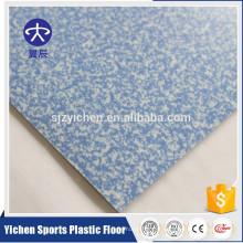 Rouleau de plancher de vinyle de 2mm roulent le plancher commercial de PVC d'hôpital