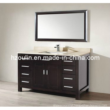 Express Marble Top Wooden Bathroom Vanity (BA-1125)