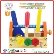 Caixa de ferramentas Brinquedos de madeira