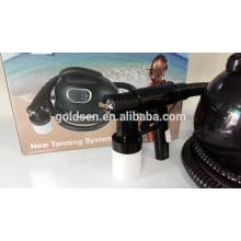 Mini sistema de la máquina de la cama que broncea de la piel de interior HVLP Handheld Spray Tan Gun