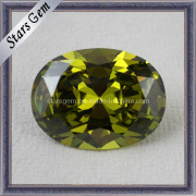 Loose Stone Peridot Gemstone Jewelry Cubic Zirconia Beads