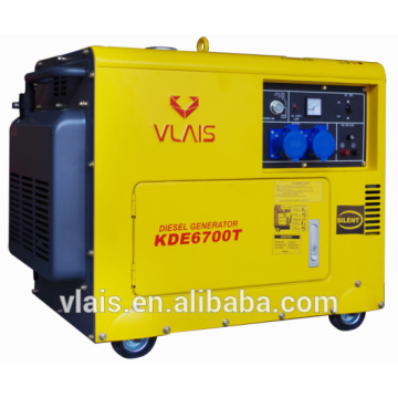 Factory directly supply electric starter 5.5KW desil generator