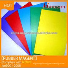 rubber fridge magnet colourful magnet sheets