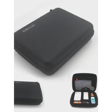 Inserção portátil personalizada da caixa do caso do curso de EVA do OEM / ODM para o instrumento do kit de primeiros socorros