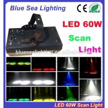 Scanner d'éclairage LED de luxe 60w à prix bon marché