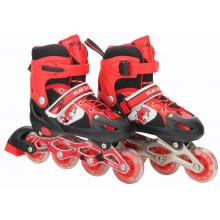 Children skates with PVC flash wheels