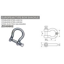 Hardware Aço Inoxidável Europeu Tipo Shackle Bow