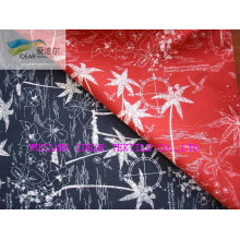 100% Polyester Printed Micro Peach Skin Fabric