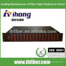 1 * 64 FC / SC Caja de montaje en rack, 19 '', 2U de altura
