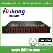 1*64 FC/SC Rack mount splitter box, 19'', 2U height