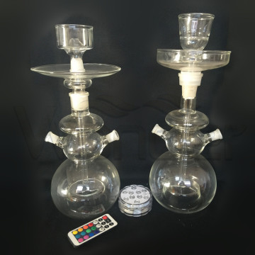 China Factory Glass Shisha Hookahs for Wholesale