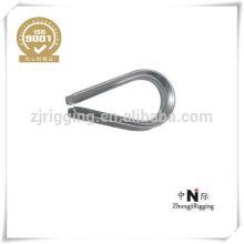 Dedal galvanizado de la cuerda de alambre DIN6899A