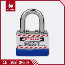 BOSHI Anti-Rust Corrosion Safety Laminated Padlock BD-J45 with High Strength Metal