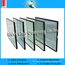 Vidro Low-E de 3-8mm, vidro baixo E com AS / NZS 2208