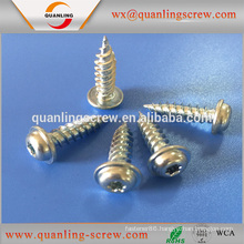 China goods wholesale pan flanged head countersunk head screw self tapping