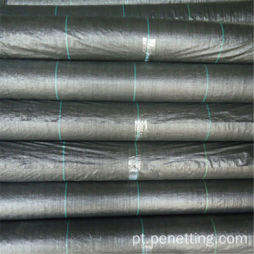 75GSM 0.6m × 200m PP Woven Weed Mat