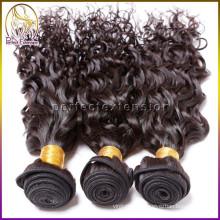 Полная кутикулы 7a бразильский Виргинские кожи утка вьющихся волос волос