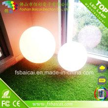 Color del RGB que cambia LED bola / LED esfera / LED Orbs con teledirigido