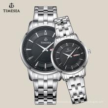 Reloj de acero inoxidable de moda para parejas 70024