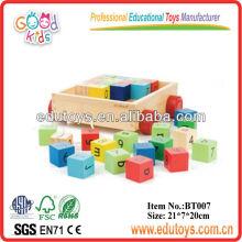 Nuevos Juguetes para Niños 2013 - Bloques de Alfabeto de Bambú