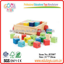 New 2013 Kids Toys - Bamboo Alphabet Blocks