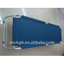 Foldable camp bed,ALU tube