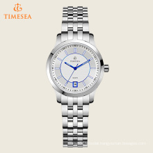 Women′s Silver Blue Tone Stainless Steel Water Resitant Watch 71176