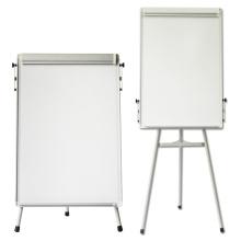 Caballete de tabla de filtro blanco magnético ligero para la escuela